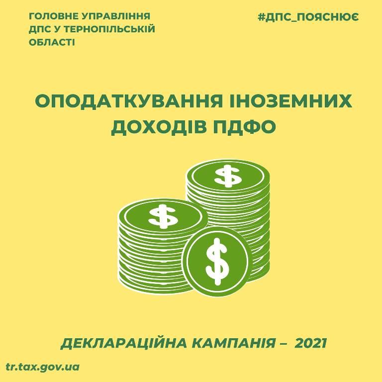 Оподаткування іноземних доходів