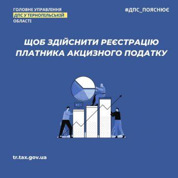 Реєстрація платників акцизного податку