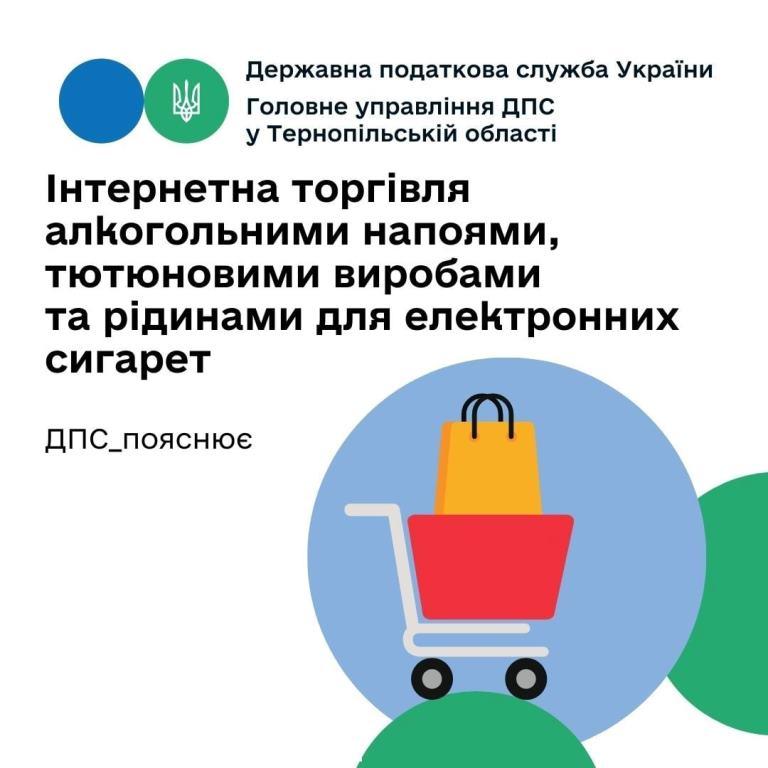 Інтернетна торгівля алкогольними напоями, тютюновими виробами та рідинами для електронних сигарет