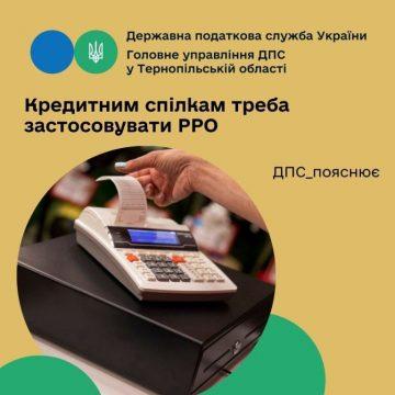 Кредитні спілки зобов'язані застосовувати РРО